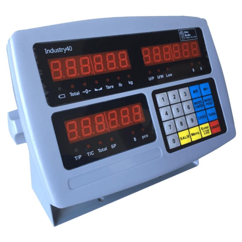 Indicador industrial en cuenta-piezas INDUSTRY-40-BBG