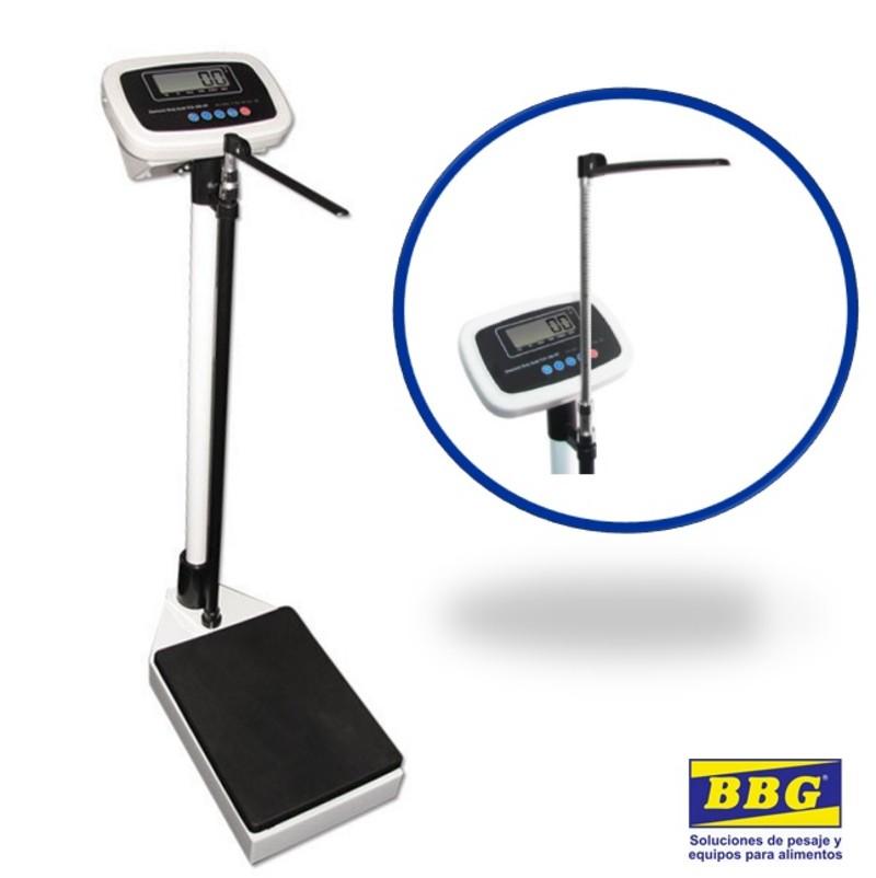 Pesa-personas con tallimetro electrónica PP-150